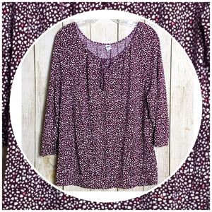 Adorable Old Navy Purple Pink Hearts XL